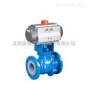 GMD190D-专业生产气动衬氟球阀
