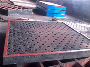 华意落地镗床工作台按JB/T8775-98标准制造
