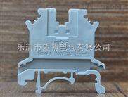 昆明PA66上等尼龙材质UK2.5B接线端子,耐高温,耐腐蚀接地端子