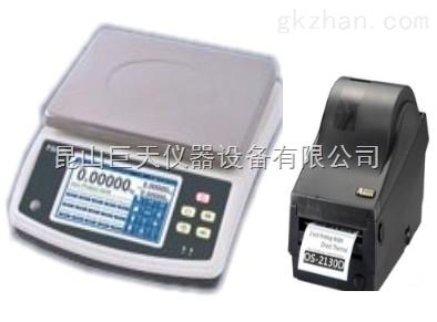【可外接不干胶打印机的电子称秤】
