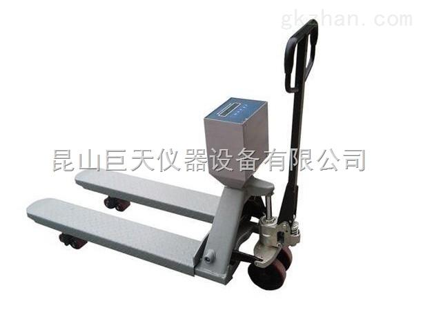 郑州量程500公斤叉车秤