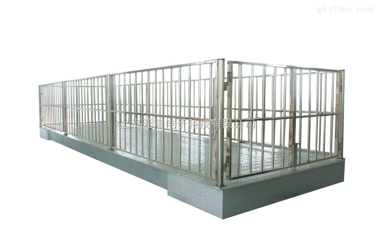 【亚津】地磅3t 上海牲畜秤 电子地磅称
