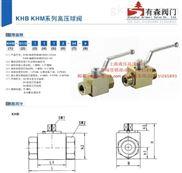 KHB型液压高压球阀