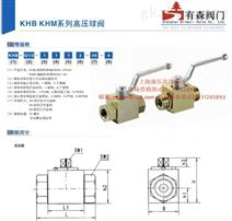 KHB-1/8NPT_内螺纹高压球阀