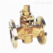 上海唐京X43W-10T二通黄铜旋塞阀