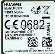 华为3G模块WCDMA制式MU509
