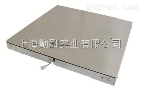 上海衡器厂一米五乘一米五单层地磅/碳钢电子磅秤