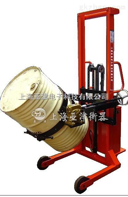 zui高可升高2.4m全自动勾式电子倒桶磅