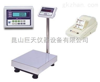 上海300kg高精度打印秤,上海300kg打印电子台秤价格