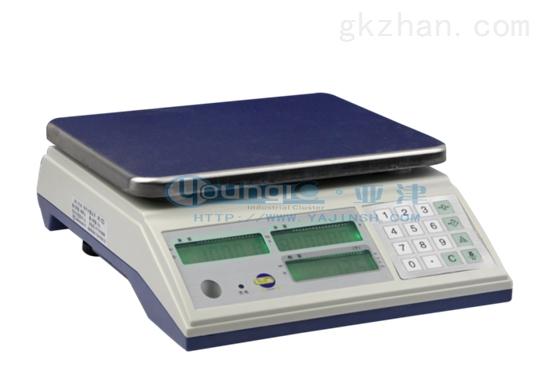 亚津3公斤电子上海计数秤