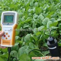 土壤水分测量仪土壤水分与温度变化