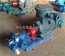TCB防爆齿轮泵型号及价格询泊头宝图泵业