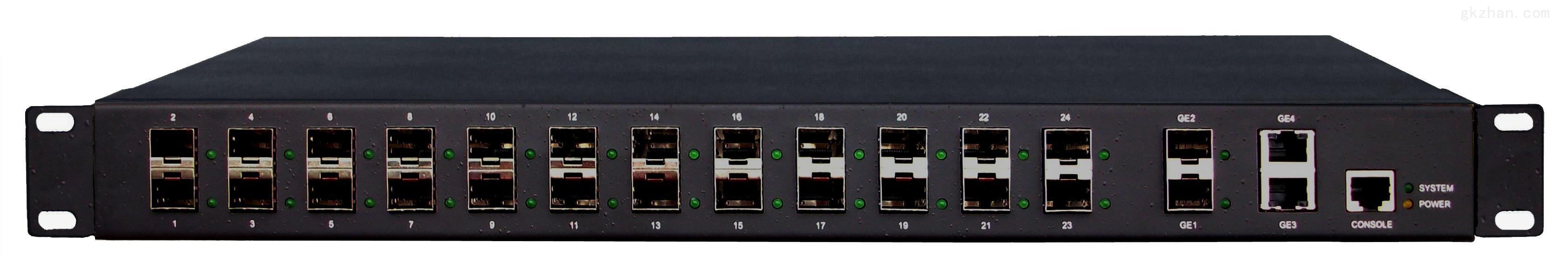 InMax S5326管理型24千兆SFP端口+2千兆combo端口光纤以太网交换机
