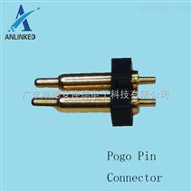 3.0mm间距2Pin 总高8.0 8.5车载OBD天线顶针探针弹簧针Pogo连接器