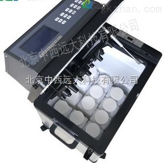 中西(LQS现货)便携式水质等比例采样器 型号:ZX8000D库号:M139094