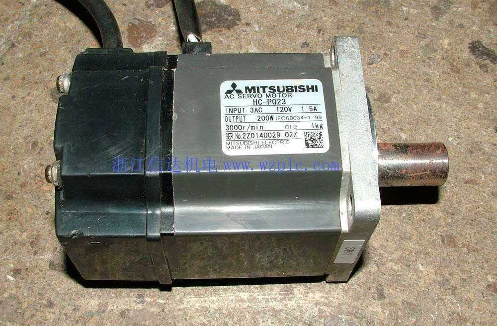 二手三菱伺服电机HC-PQ23