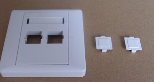 nbdd-12-光纤信息面板双孔面板