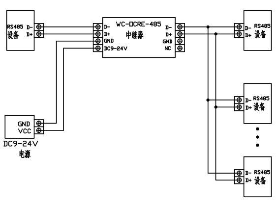 威勤——rs485隔离中继器