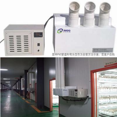 f60z工厂用加湿器及zs系列超声波加湿器是采用超声波高频振荡的原理