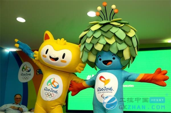 """里约奥运会吉祥物公布 """"中国制造""""获赞图片"""
