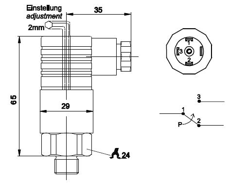 md-s700机械式压力控制开关